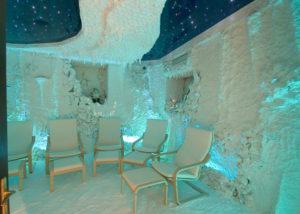 Оздоровительная соляная комната дома