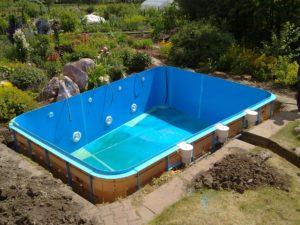 чаша бассейна из полипропилена цена