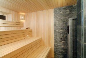 отделка русской бани внутри фото с печкой