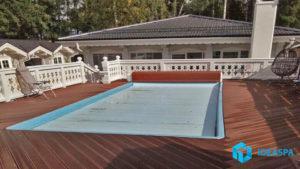 Скиммерный бассейн поселке «Ладожский Маяк»