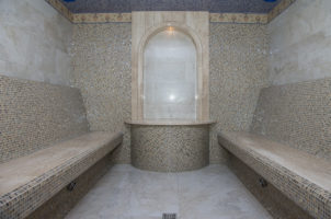 Постройка каркаса хамама
