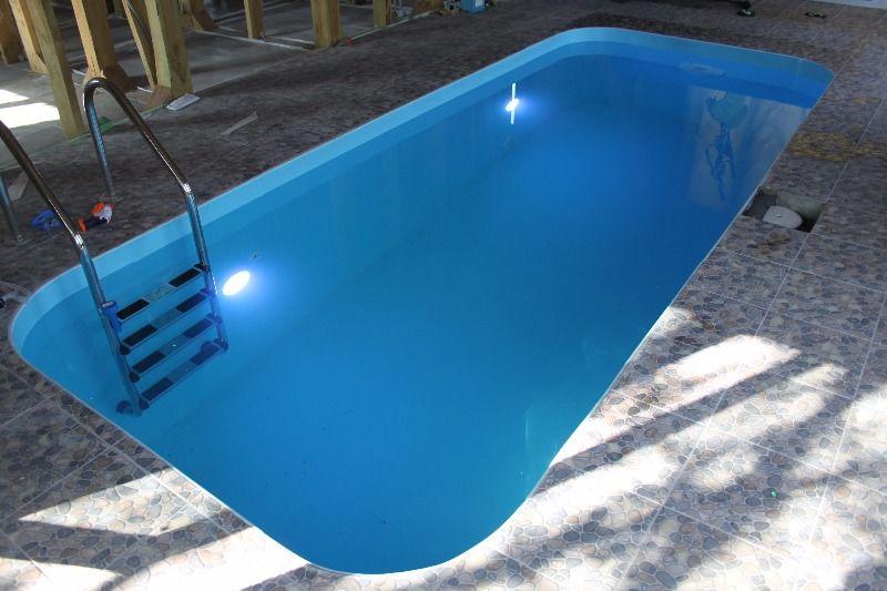 Строительство бассейна из полипропилена под ключ