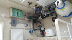 Техническое помещение для бассейна