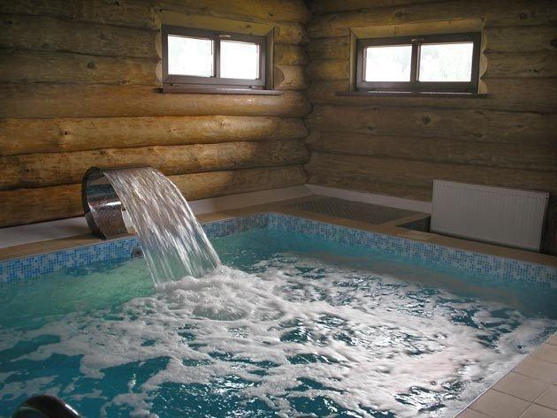 Технология строительства стеклопластикового бассейна в бане