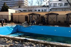 Демонтаж и монтаж бассейнов