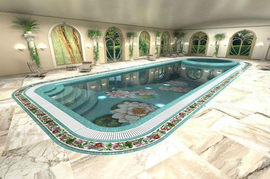 строительство хамама и бассейна